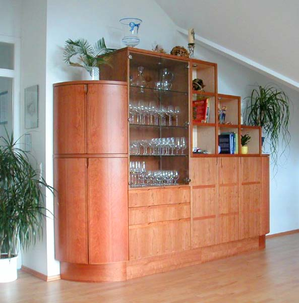 M bel finewoodwork for Wohnzimmerschrank ahorn